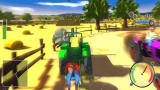 Tractor Racing Simulation Screenshot