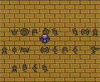 Pokémon Crystal Version Screenshot  Solve cryptic puzzles in the Ruins of Alph to find hidden rooms with great items and Unown inscriptions. Just west of Olivine City, enter the gleaming Battle Tower for a very challenging tournament!