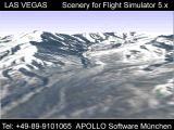 Las Vegas Scenery for Microsoft Flight Simulator 5 Screenshot