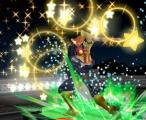 Super Smash Bros.: Melee Screenshot Whoever says Kirby's Star Wand is for wimps is going to have to answer to Captain Falcon.