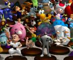 Super Smash Bros.: Melee Screenshot A group shot shows some of the great figures you can earn in Super Smash Bros. Melee.