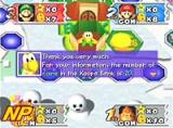 Mario Party 3 Screenshot Who will win the Millennium Star? It takes equal parts skill and luck.
