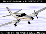 Apollo Collection 4: Business Jets Screenshot Grumman American GA-7 Cougar