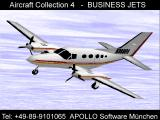 Apollo Collection 4: Business Jets Screenshot Cessna 414A Chancellor
