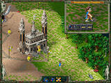 "The Settlers II: Veni, Vidi, Vici Screenshot ""Send your scouts to explore unknown lands!"""