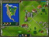 "The Settlers II: Mission CD Screenshot ""Embark on the journey, explore and conquer the continents"""