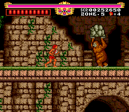 The Legendary Axe (Test PC Engine) 100044-the-legendary-axe-turbografx-16-screenshot-it-s-king-kong