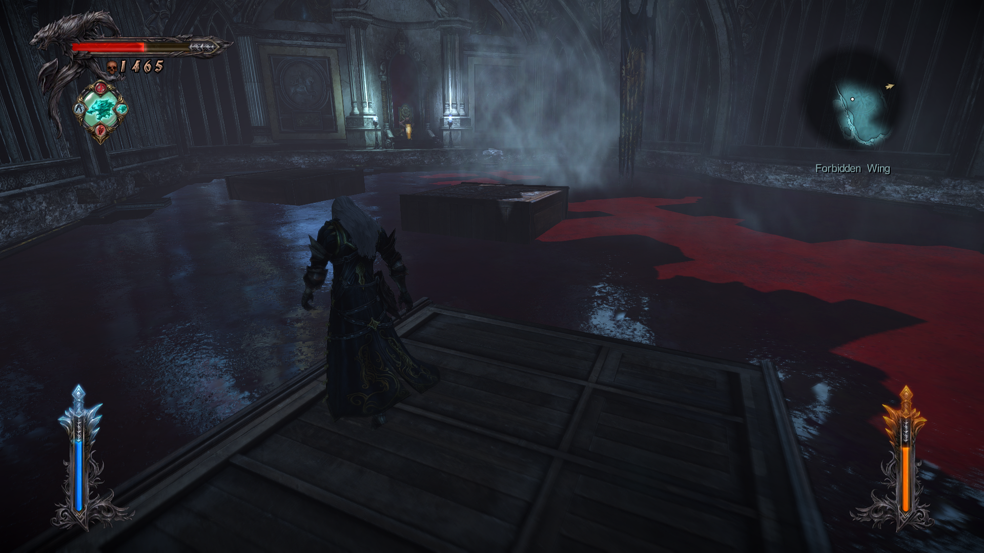 Castlevania: Lords of Shadow 2 - Revelations Windows Crossing the pool of blood