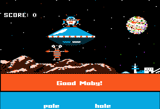 Rhymo's Falling Star Apple II I Saved an Alien