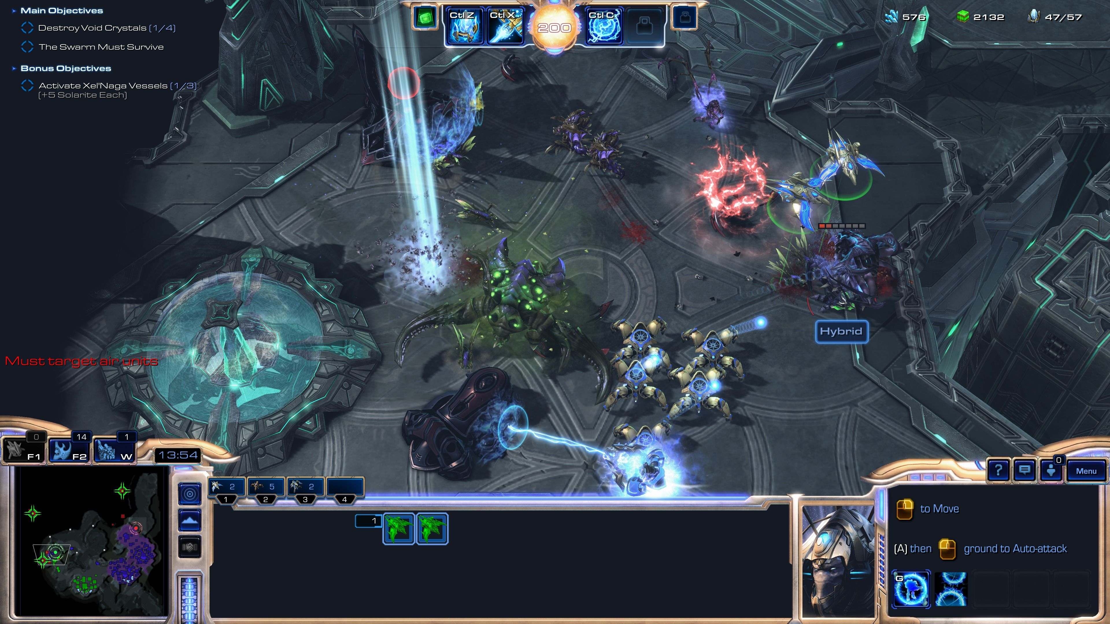 StarCraft II: Legacy of the Void Windows Kerrigan and her swarm, buying us time to destroy Void Crystals