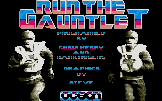 Run the Gauntlet Atari ST Title screen