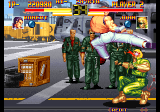 Art Of Fighting Screenshots For Arcade Mobygames