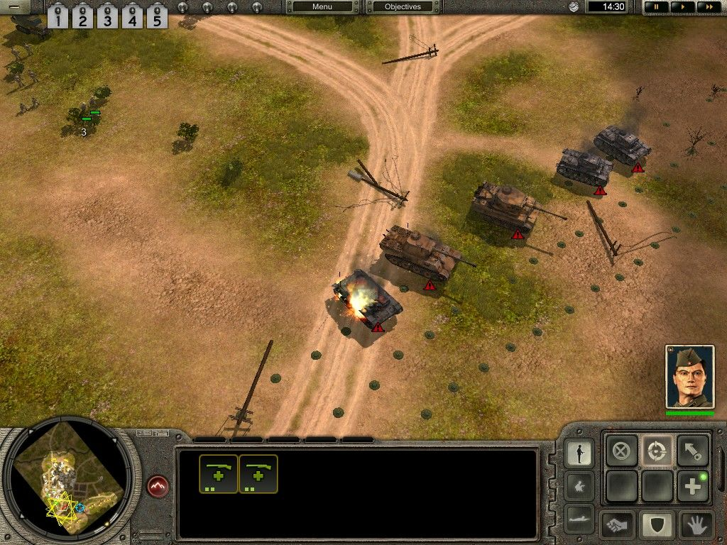 codename panzers phase one screenshots for windows mobygames. Black Bedroom Furniture Sets. Home Design Ideas
