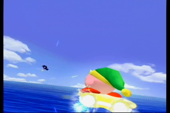 Kirby Air Ride GameCube Intro: Kirby Chases Meta Knight