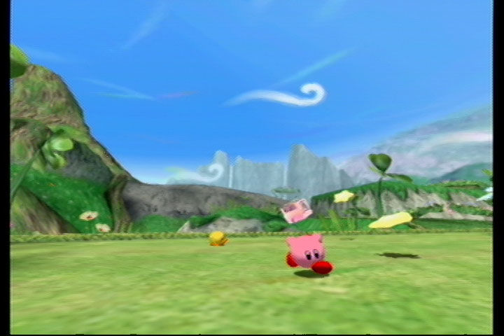 Kirby Air Ride GameCube Air Ride Mode: Here come the competitors' rides
