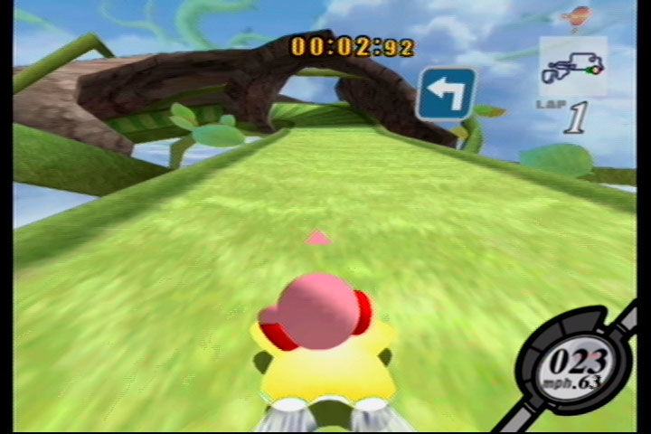 kirby air ride gamecube