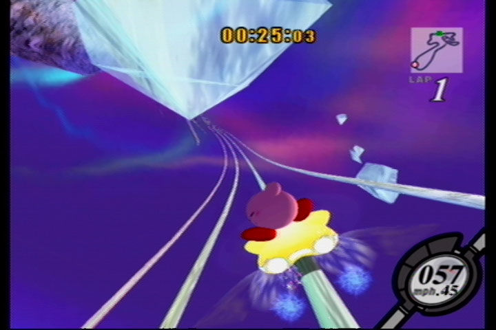 Kirby Air Ride GameCube Air Ride: Frozen Hillside