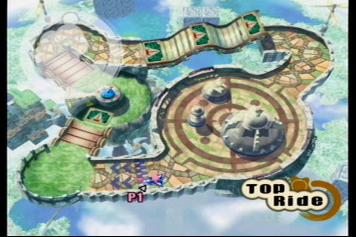 Kirby Air Ride GameCube Top Ride: Sky