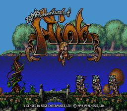 Flink Genesis Title screen