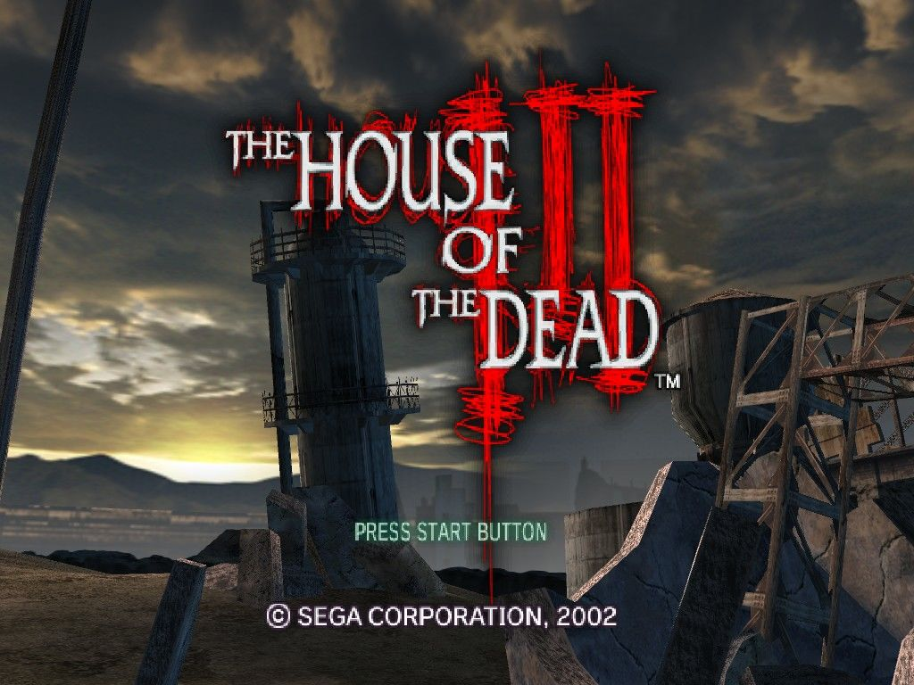 The House of the Dead III Windows Animated Title Screen