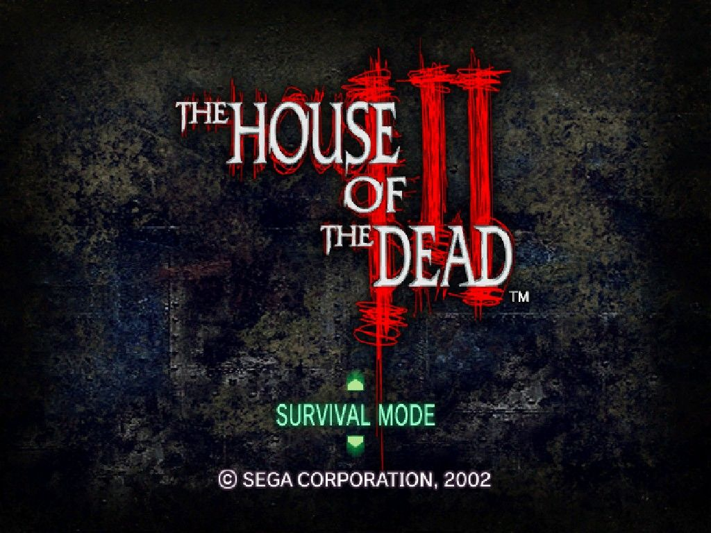 The house of the dead iii screenshots for windows mobygames for Housse of the dead