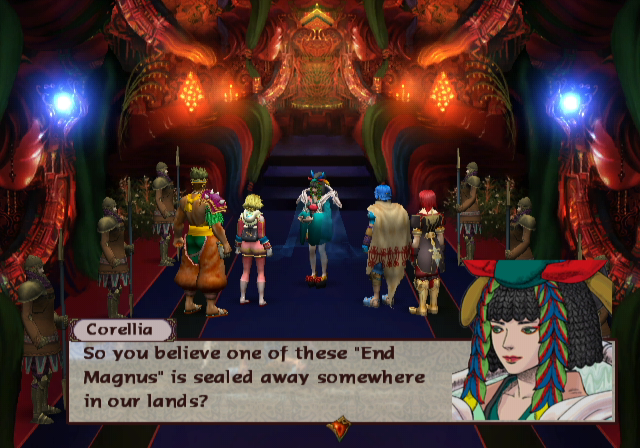 Baten Kaitos: Eternal Wings and the Lost Ocean GameCube Meeting with Corellia