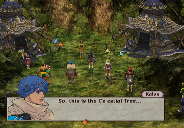 Baten Kaitos: Eternal Wings and the Lost Ocean gamecube