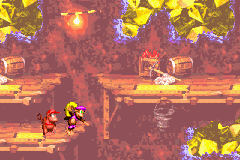 Donkey Kong Country 2: Diddy's Kong Quest Game Boy Advance Fall or not to fall... That's the question, Dixie!