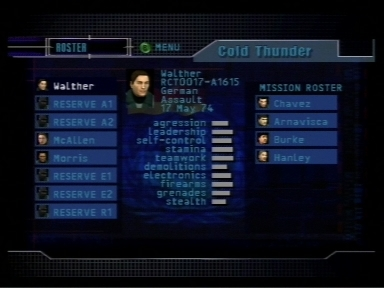 Tom Clancy's Rainbow Six Nintendo 64 Choose who will take on the mission