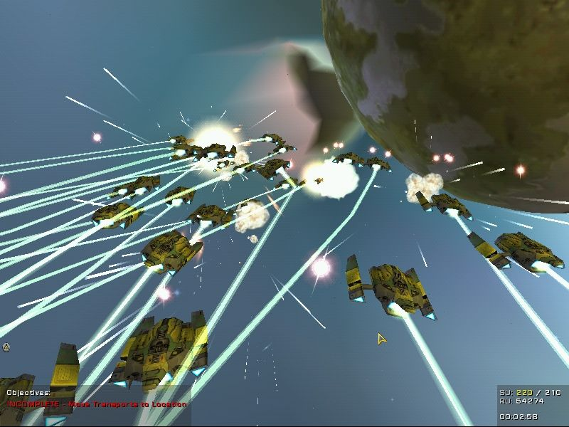 Homeworld: Cataclysm Windows Get into battle with huge fleets.