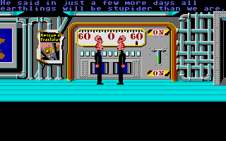 Zak McKracken and the Alien Mindbenders Atari ST Stupid aliens