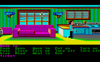 Zak McKracken and the Alien Mindbenders Atari ST At home