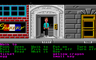 Zak McKracken and the Alien Mindbenders Atari ST Street