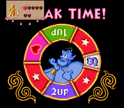 Disney's Aladdin SNES Bonus-game