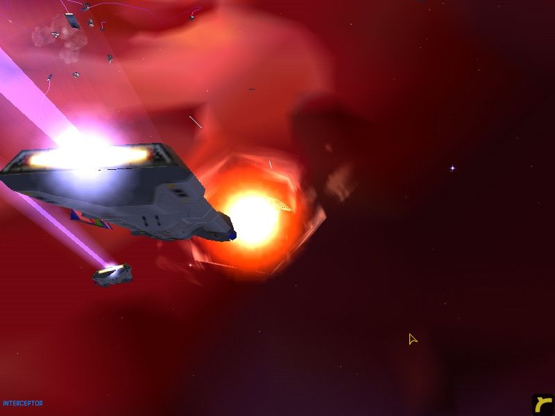 "Homeworld Windows ""Got one!"" (two Intercepters)"