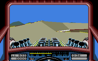 Stunt Track Racer Atari ST Another ramp
