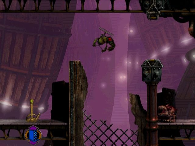 Oddworld: Abe's Exoddus Windows In the body of a flying slig
