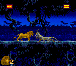 Image result for The Lion King SNES