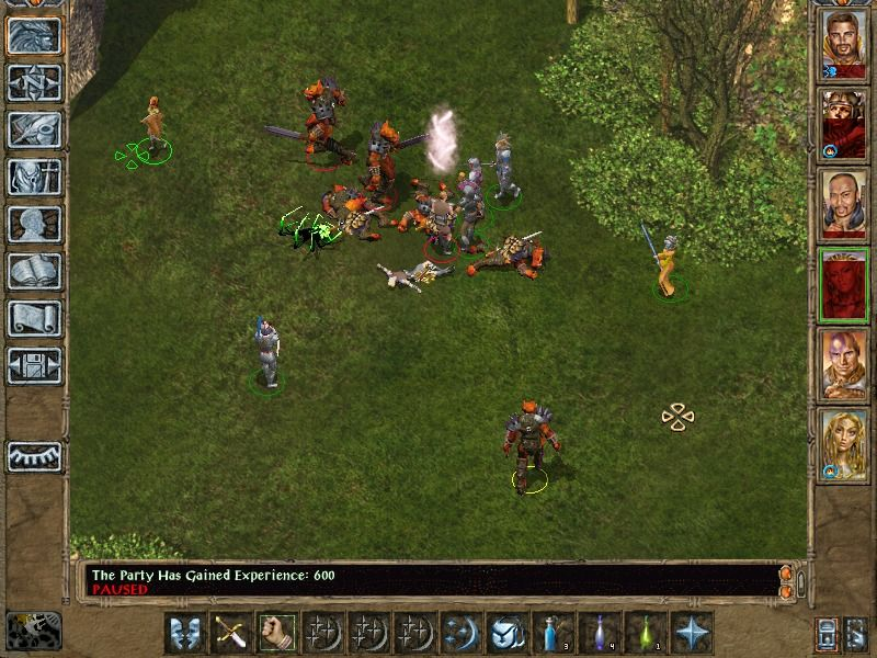 Baldur's Gate II: Shadows of Amn Windows Fighting outdoor is much healthier, anyway.