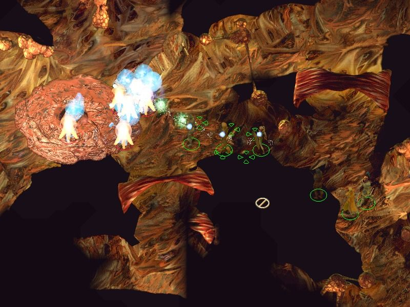 Baldur's Gate II: Shadows of Amn Windows This organic cave is the lair of a beholder.