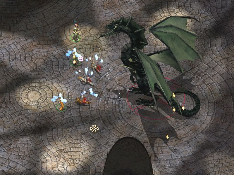 Baldur's Gate II: Shadows of Amn Windows Wow, this dragon's big -- and *really* fierce.