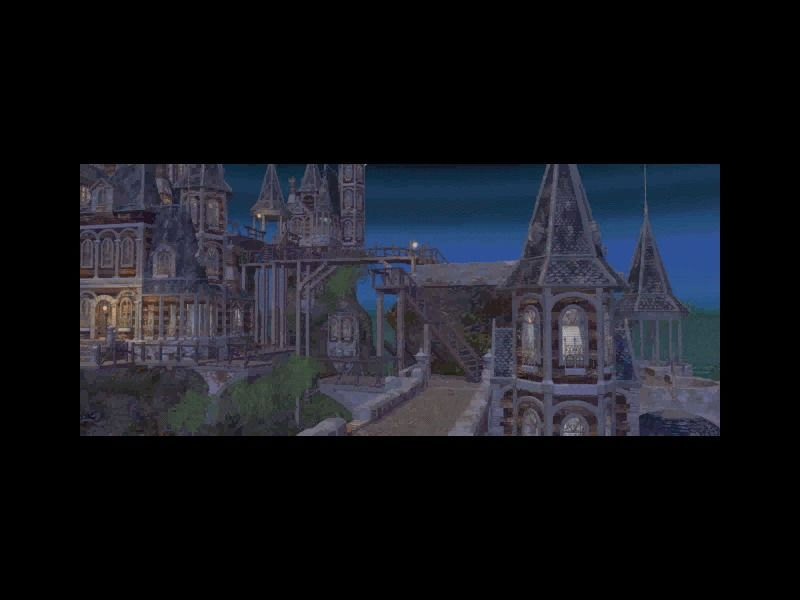 Baldur's Gate II: Shadows of Amn Windows One of the (rare) ingame movies...