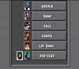 Mortal Kombat SNES You have a long journey...