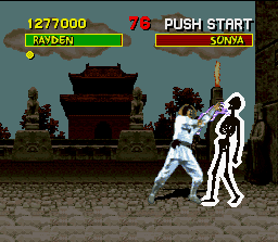 Mortal Kombat SNES Look out! Extreme electricity can dissolve everybody in question of seconds...