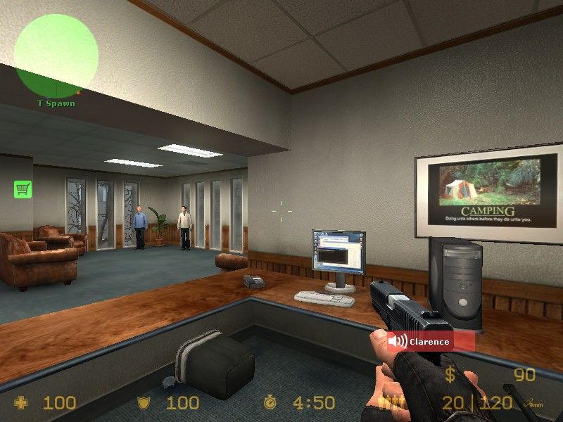 "Counter-Strike: Source Windows On ""cs"" maps the counter terrorists try to rescue hostages and lead them to safety."