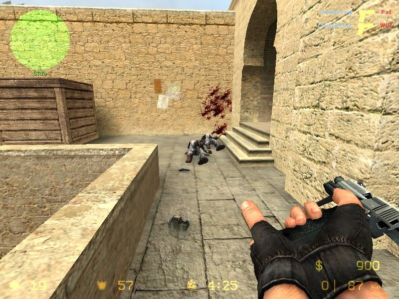 Counter-Strike: Source Windows Killing everyone on the opposing team is always a viable strategy for winning.