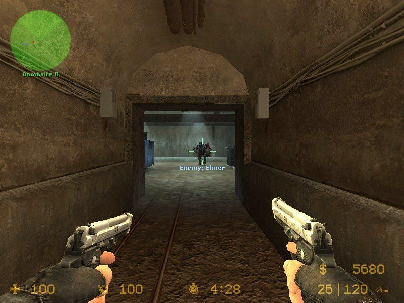 "Counter-Strike: Source Windows Terrorists can go ""John Woo"" if they don't mind sacrificing their accuracy."