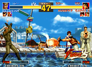 The King of Fighters '95 Neo Geo You can see perfectly that this demo is very disputed!