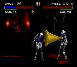 Ultimate Mortal Kombat 3 SNES A lot of trumpet to relight the spirits...