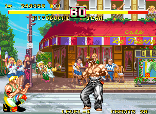 Fighter's History Dynamite Neo Geo Fighting Jean